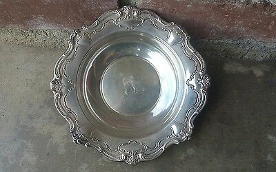 "Chantilly By Gorham Sterling Silver Candy Dish 6"" Diameter #739"