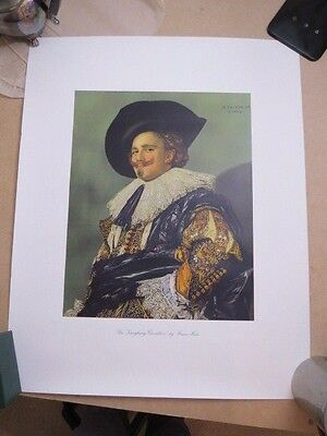 Vintage Print of The Laughing Cavalier by Frans Hals