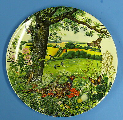 MEADOWS and WHEATFIELDS by COLIN NEWMAN    WEDGEWOOD   FINE BONE CHINA