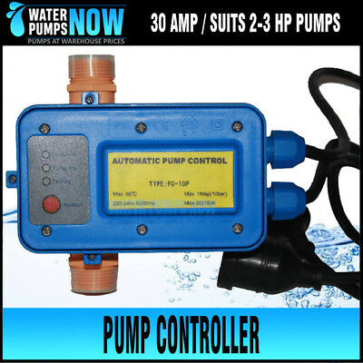 "3 HP Pump Controller Pressure Switch 30 Amp 1"" outlet PC10P SUITS PUMPS 2-3 HP"