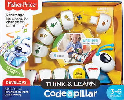 Fisher-Price Think & Learn Code A Pillar Motorized Action 8 Pieces Kids Toys Au2