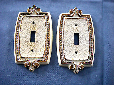Lot Of 3 Vintage Amerock Bonaventure Outlet Plate Switch Covers