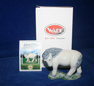 Shetland Pony, Wade Collectors Club membership peice, 2006, boxed/certificated