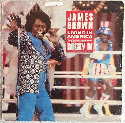 James Brown, Living In America, Soul/Funk, 45RPM Vinyl Single (7-inch)