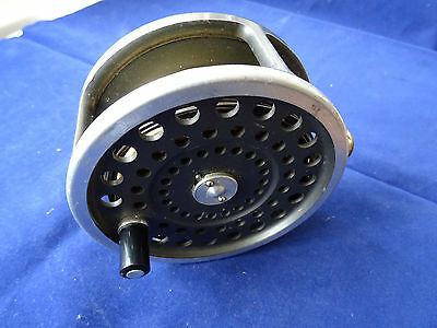 """A Good Useable 4 1/8"""" Hardy Marquis No 2 Salmon Fly Reel + Line"""
