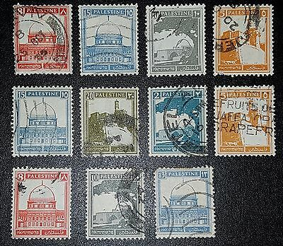 Palestine  Mixed Unchecked Stamps (No471)