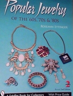 60's 70's 80's POPULAR JEWELRY VALUE GUIDE COLLECTORS BOOK