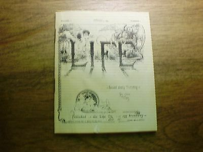 Promo mini Life booklet volume1, #1,dated Jan 4 1883-s&h to  Canada 1.50