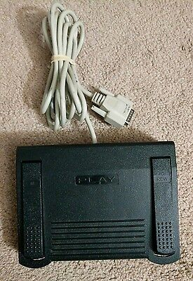 Pre-owned IN-DB15 Foot Pedal for Computer Transcribing Transcription