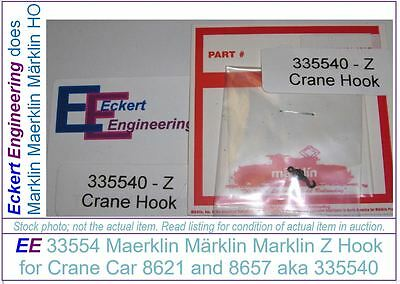 EE 33554 NEW Marklin Z hook 335540 Miniclub for Crane 8621 and 8657