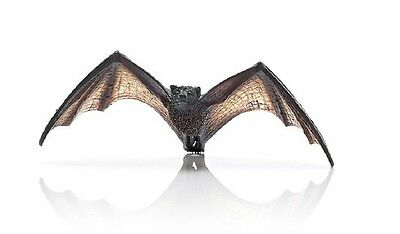 Schleich Fruit Bat Toy Model 14719 North American Flying Fox Figurine Free Ship