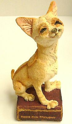 A Breed Apart Enesco Chihuahua Junior Dog Figurine 05064 Country Artists Free SP