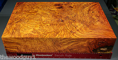 x1072 - LARGE!  Beautiful AFZELIA BURL Slab - Air Dried for 20 years