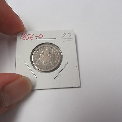 1856-O Liberty Seated Dime ( Combine Shipping )