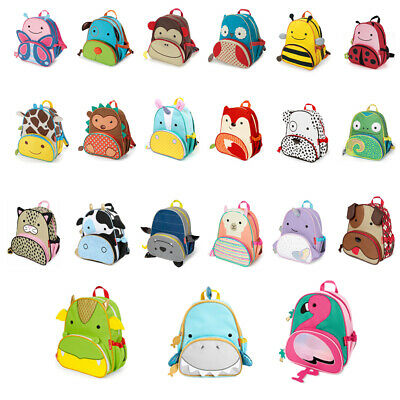 New Skip hop Zoo Packs Little Kids Backpack PreSchool School Bag For Boys & Girl