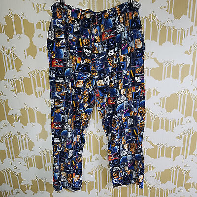 Star Wars Size XL Unisex Drawstring Pajama Pants Sleepwear Lounge Soft Stretch