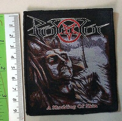 PROTECTOR WOVEN Patch priest maiden fate sodom sabbath death immolation carcass