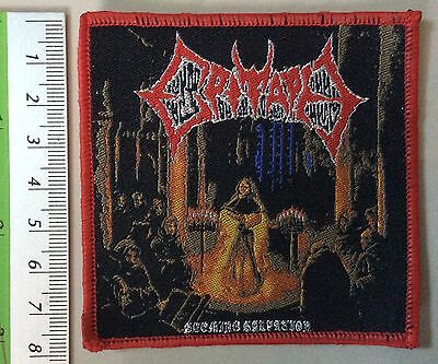 EPITAPH WOVEN Patch priest maiden fate sodom sabbath death immolation carcass