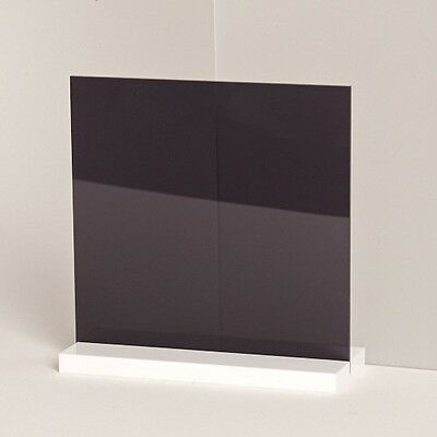 Acrylic Darker Grey Tint Sheet Perspex CAST A4 A3 A2 A1 A0 FREE POST UV GRADE