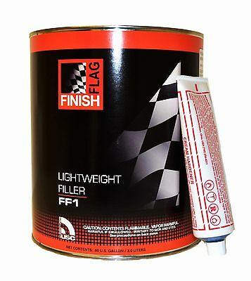 3L Body Filler Easy Sand Light Weight Car Home Diy Dents Scratches Paint 2K Ff1