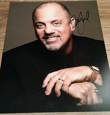 BILLY JOEL Hand Signed Autograph 8 x 10 Photo COA AUTHENTIC