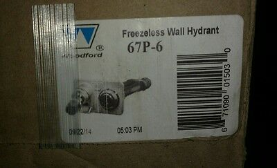Woodford 67P-6 Commercial Wall Hydrant With Anti-Siphon Vacuum Breaker