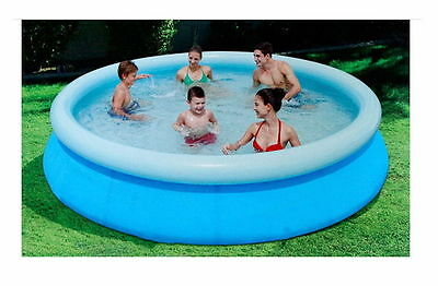 """Pool Family Ground Swim Swimming Square 96"""" Outdoor Playing Above Kids run"""