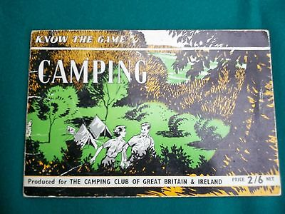 """""""Camping  - Know the Game"""" booklet"""