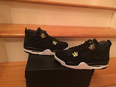 Nike Air Jordan 4 Retro Bg Gs Royalty Sizes 6Y-6.5Y