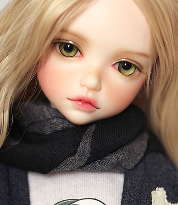 1/6 Bjd Doll SD iple kid GIRL lonnie Free FACE MAKE UP+FREE EYES