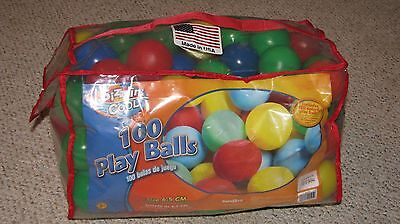 Sizzlin Cool 100 Count Play Ball Pit Colorful Balls 6.5 cm Toys R Us