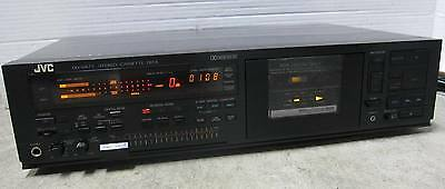 JVC DD-VR77 Stereo Cassette Deck Audiophile Top Of Line - 2 Head Unit