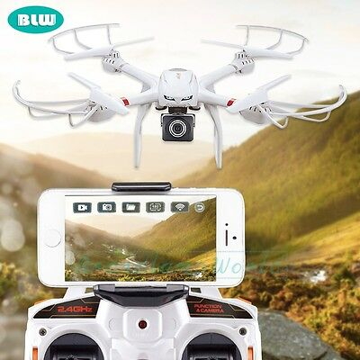 MJX X101 2.4G 3D Roll FPV Camera Wifi RC Quadcopter Drone Helicopter Easter Toy
