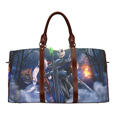 The Nightmare Before Christmas Jack Durable Canvas Travel Duffel Bag Ourdoor