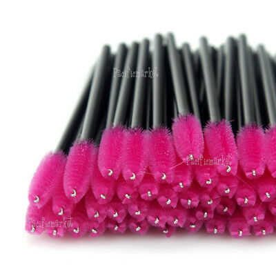 25-1000 Disposable Eyelash Brush Applicator Extension Mascara Wands Spoolers