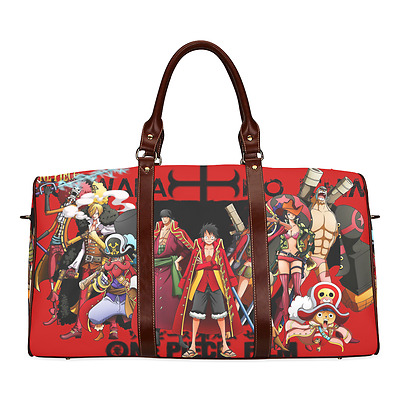 One Piece Luffy Chopper Hot Anime Theme Durable Canvas Travel Duffel Bag Ourdoor