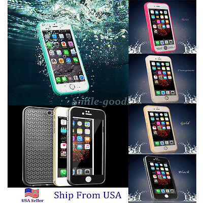 Waterproof Shockproof Hybrid Rubber Case Cover For Apple iPhone 7 Plus