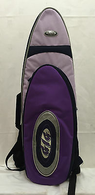 Gig Padded Soprano Saxophone Purple / Navy Carry Case Bag Instrument Protect