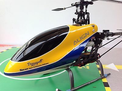 Align Trex 450 CF Helicopter