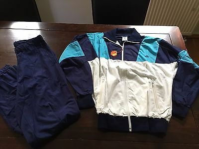 Vintage Adidas Track Suit 1980's Rare Made in West Germany Small Deadstock Girls
