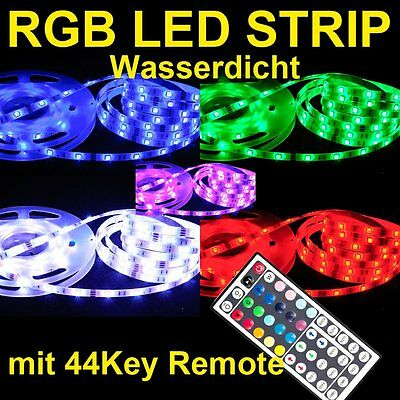5M 5050 Controller + 44key RGB SMD LED impermeable