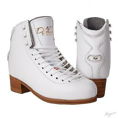 Graf Dance junior Figure Skates White BOOT ONLY- Free Postage