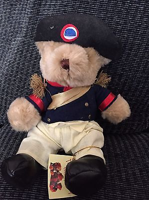The Teddy Bear Collection. Napoleon Bear. Soft Toy. Number 60