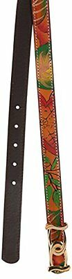Leather accessories hand crafted multi color designing belt for girls