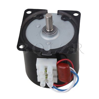 High Torque AC 220V 60RPM Gear-Box Electric Synchronous Gear Motor Replacement