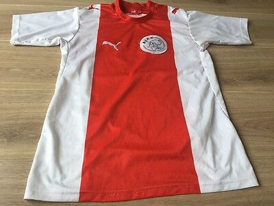 Ajax Cape Town South Africa Home Football Shirt Puma Ladies Uk Size 8 Vgc