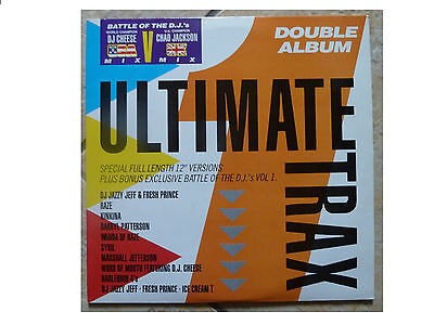 Various * Ultimate Trax * Dj Cheese / Chad Jackson * 2Xlp Champ 103 Plays Great