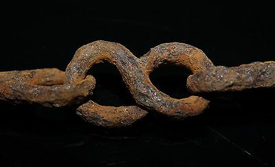Very Rare 10th C. Viking 5 Section Iron Horse / Snaffle Bit. Complete.