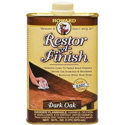 Howard Restor-A-Finish - Dark Oak -  16oz