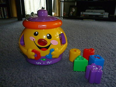 Fisher Price Cookie Shape Surprise with instruct book - excellent used condition